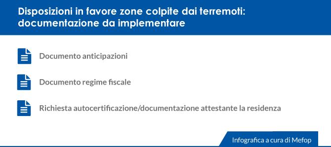 Terremotati del centro italia una misura di sostegno for Fac simile autocertificazione per detrazione materasso